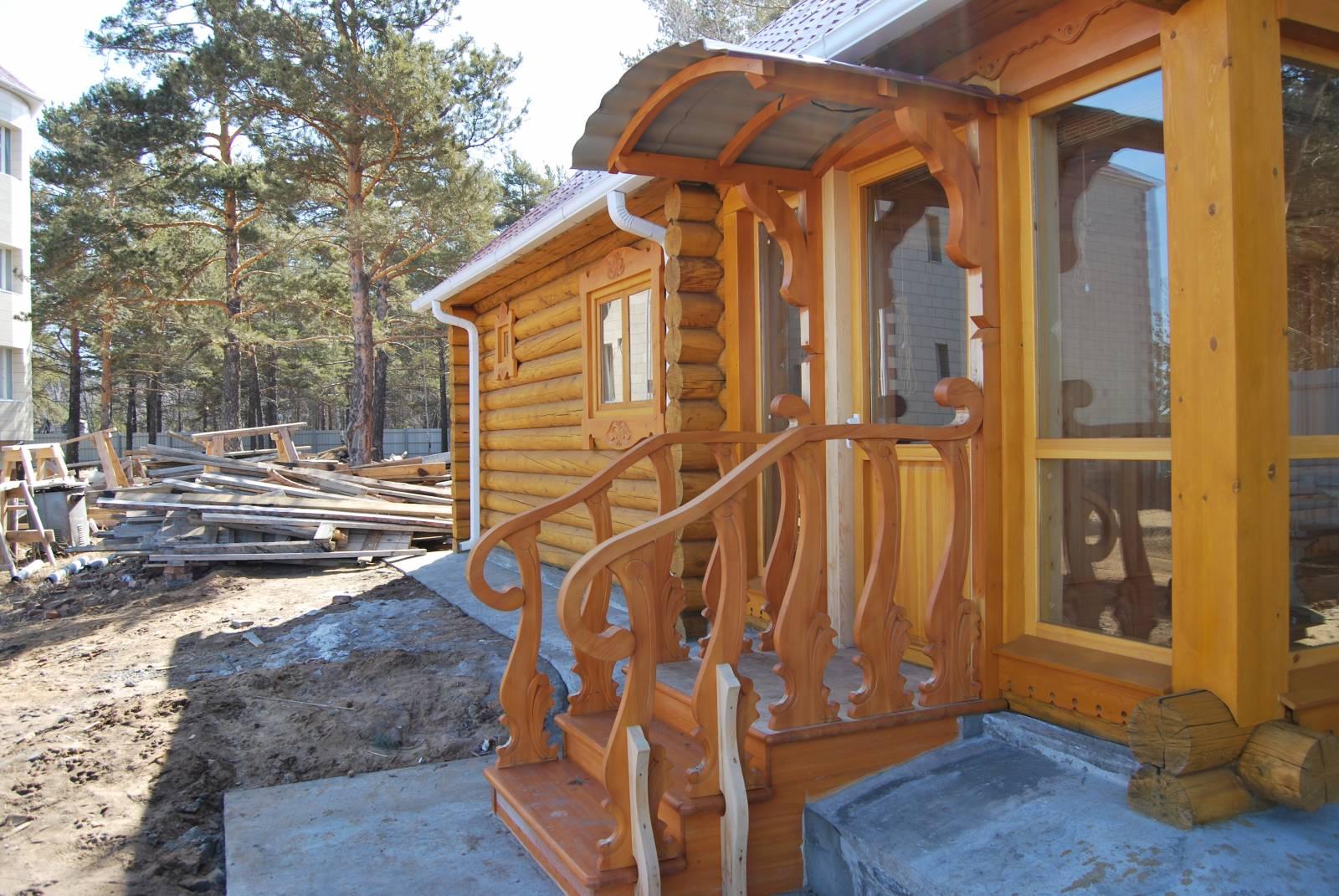 Как сделать балкон в деревянном доме